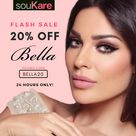 24 Hours Only! 20% OFF Bella Contact Lenses at soukare.com | UAE, USA, UK, KSA, Europe, Middle East