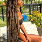 50 Box Braids Protective Styles on Natural Hair with Full Guide - Coils and Glory
