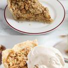GF + Vegan Apple Crumb Pie