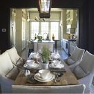 Black Dining Rooms
