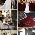 Top 7 Burgundy Fall Wedding Color Combos