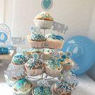 Im Babyfanten-Marsch zur Baby Party - süße Deko in Blau
