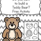 Do you want to make a Teddy Bear? Fun Craft for Kids