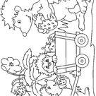 118 dessins de coloriage Hérisson à imprimer