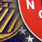 Clásico rosarino . Club Atlético Rosario Central VS Club Atlético Newell's Old Boys