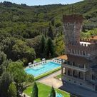 1900 Castle For Sale In Tuscany Italy — Captivating Houses