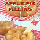 Homemade Apple Pie Filling
