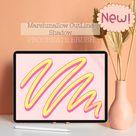 Procreate Marshmallow Multicolor shadow brush | procreate shadow brush | procreate brush | procreate Lettering brush | procreate Graffiti