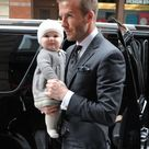 Well Played, David Beckham and Harper Seven OMG - Go Fug Yourself