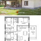 A-120 Проект одноэтажного дома - Проекты домов и коттеджей в Москве