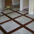 Wood Floor With Tile Inlay (Wood Floor With Tile Inlay) design ideas and photos