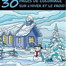 Noël: Livre de Coloriage pour Adultes - Un beau livre à colorier pour l'hiver, l'automne et Noël