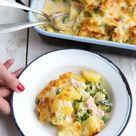 Kartoffel-Brokkoli-Auflauf mit Lachs - Madame Cuisine