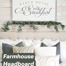 Farmhouse Headboard Decor