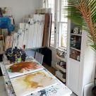 Studio Organization and Storage for Small Spaces — E.H. Sherman