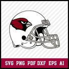 Arizona Cardinals Helmet Logo svg, Arizona Cardinals Svg-Png Files, Arizona Cardinals Svg Files
