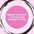 Alphabet Learning Printable I Worksheets for Kids