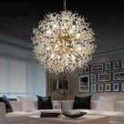 Arturest Modern Home Chandelier, Elegant Organza Lamp, Decorative Pendant Lighting,  Nursery Decoration Light,110-240V