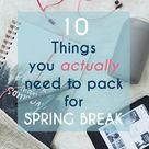 College Spring Break