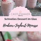 Himbeer-Joghurt-Mousse mit Kokostopping - schnelles Dessert « CASTLEMAKER Lifestyle-Blog