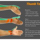 ares clinical taping   rheumatism thumb