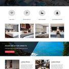 VacayHome - Free Resort And Hotel Website Template | ThemeVault | ThemeVault