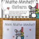 Mathe-Miniheft Ostern | Rechenübungen ab Kl. 1