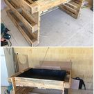 25 Easy and Cheap Shipping Pallet Projects You Can Make Yourself – 2019 - Pallet ideas