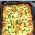 Gemüse-Lasagne, köstlich ohne Fleisch, Rezept