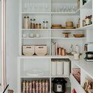 Tolle Pantry-Ideen mit Kühlschrank