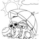 puppies spotty and dotty Coloring Page