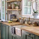 51 Green Kitchen Designs | Decoholic
