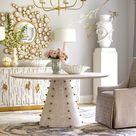 Ashley Childers for Global Views Spheres 60 Dining Table