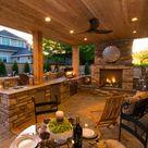 Esszimmer und Außenküchen – originelle Ideen für Ihren Garten - Architecture Diy