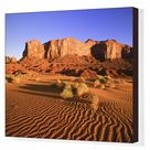 Box Canvas Print. Spearhead Mesa, Monument Valley Tribal Park,