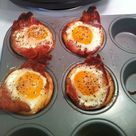 Bacon Egg Cupcakes