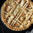 Apple Pie - amerikanischer, gedeckter Apfelkuchen - Zungenzirkus
