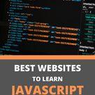 Best Websites to learn JavaScript    JavaScript in 2020  Coding