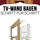 TV-Wand selber bauen - ganz einfach mit Bauanleitung!