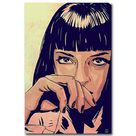 Pulp Fiction Movie Art Silk & Canvas Poster Print   Picture 1 / 16x24
