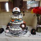 Baseball Diaper Cakes