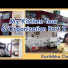 Kitchen Tour in Tamil   Kitchen Organization ideas in Tamil   Indian Kitchen Tour - Part 02