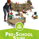 Around the Sims 4   Custom Content Download   Pre-school - Activities for toddlers