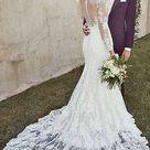 30 Mermaid Wedding Dresses You'll Admire
