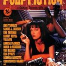 Pulp Fiction Cover with Uma Thurman Movie Poster Posters at