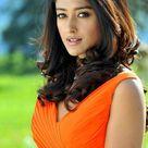 Ileana D'cruz Hot in Orange Dress