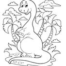 100+ Dinosaur Coloring Pages For Kids