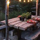 40+ schöne hübsche Hinterhof Patio Ideen auf einem Budget  Hinterhof  Patio – 2019   Patio Diy