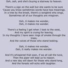 More Lyrics