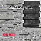 Rubber mold, Concrete brick molds, Rubber molds for bricks, 3D silicone form, Silicone mold gypsum concrete, Mold for tile, DIY mold, R005
